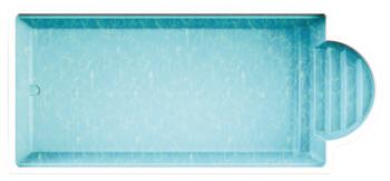 Schwimmbecken Elba 74