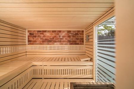 Sauna Blockline. Foto: saunalux