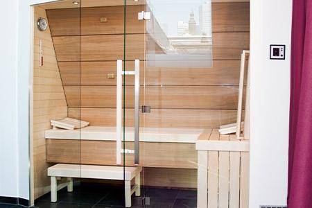 Sauna Lifeline. Foto: saunalux