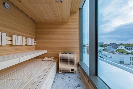 Sauna Studioline. Foto: saunalux
