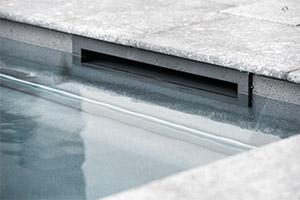 Wasserstand: Slim max. 4 - 6 cm