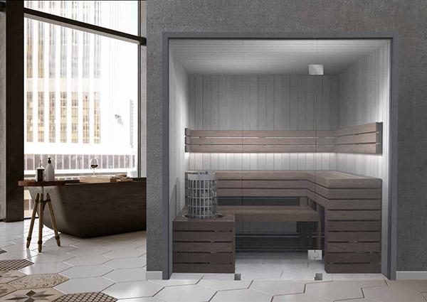 Saunakabine CLUB. Foto: Knüllwald Sauna
